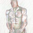 Male study one by Lee Lee