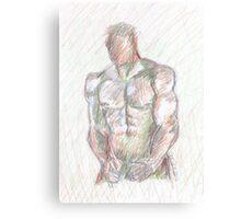 Male study one Canvas Print
