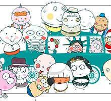 Yesthisismyday's gang  by Beo Lo