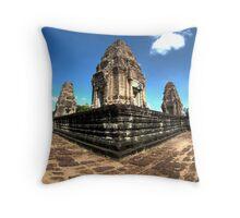East Mebon Throw Pillow
