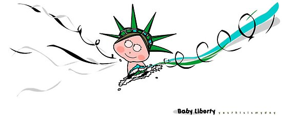 Baby Liberty Dancing  by Beo Lo