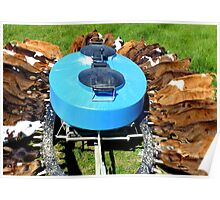 The Calfeteria - Calf Feeding Station -Mosburn - NZ Poster