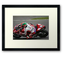 JHP Racing Team -  Donnington  Framed Print