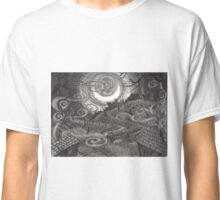 Moonlit Village Classic T-Shirt