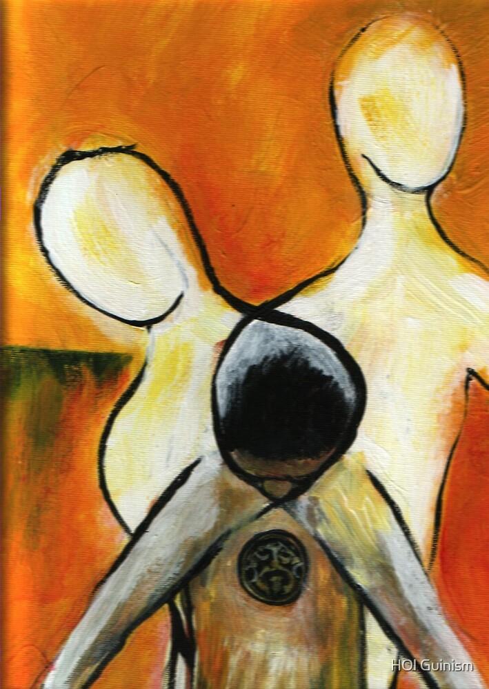 When Souls Collide -Orginal Art work Tina Logan by HOl Guinism