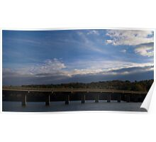 HDR Composite - Bridge and Sky Poster