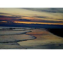 Beach Multi Sun Photographic Print