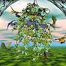 Flower Dragons by Walter Colvin
