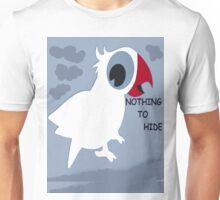 Nothing To Hide! - Bird T-Shirt - NZ Unisex T-Shirt