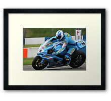 Team Rizla Suzuki - Donnington Park Framed Print