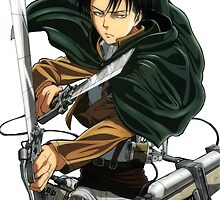 Levi Ackerman by Dani Howe