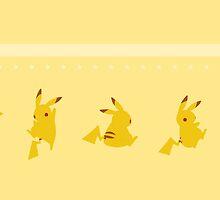 Pokémon / Pikachu by valione