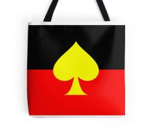 Aboriginal Spade Flag Tote Bag