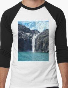 Water From Ice Men's Baseball ¾ T-Shirt