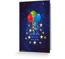 New year greetings  Greeting Card