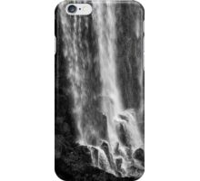Iguazu Falls - The Long Drop - in Monochrome iPhone Case/Skin