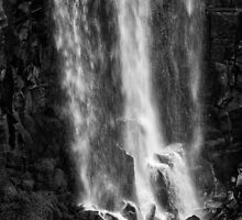 Iguazu Falls - The Long Drop - in Monochrome by photograham