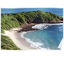 Secluded Beach  Poster