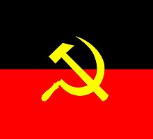 Aboriginal Left Flag by ArchieMoore