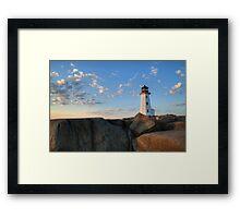 Lighthouse - Peggy Cove Framed Print
