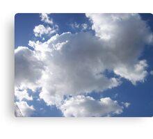 Clear blue Sky Canvas Print
