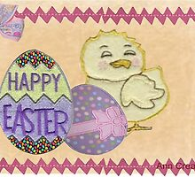 Happy Easter card by Ann12art