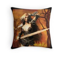 All in Vain Throw Pillow