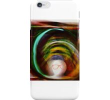 Heart touches brain iPhone Case/Skin