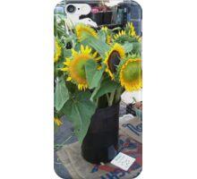 Sunflowers at the Farmer's Market iPhone Case/Skin
