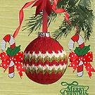 Christmas Bauble by Ann12art