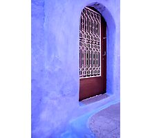 Simply Blue Photographic Print