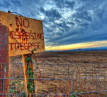 No Trespassing by Deri Dority