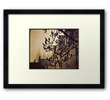 { morning fog } Framed Print