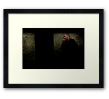 Billy in a Box Framed Print