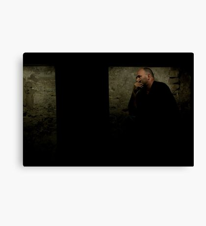 Billy in a Box Canvas Print