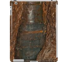Ned Kelly Armour buried in old tree trunk iPad Case/Skin