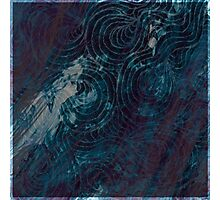 Blue Chasm Photographic Print