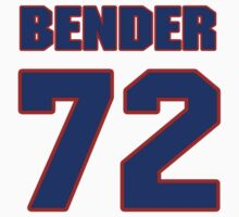 National football player Jacob Bender jersey 72 by imsport