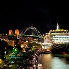 Queen Victoria at the Sydney Overseas Passenger Terminal by DavidIori