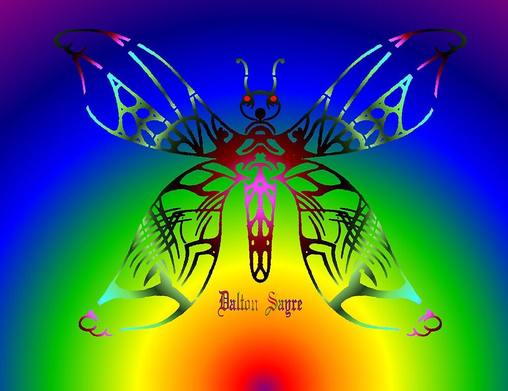 Tribal Butterfly  by Dalton Sayre