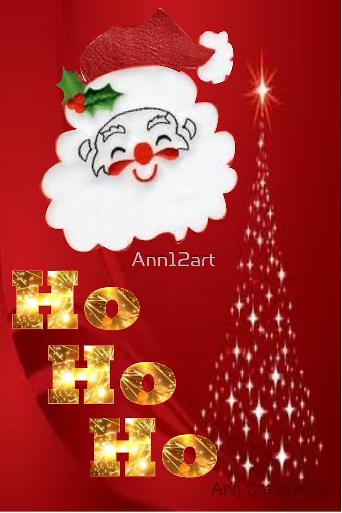 Ho Ho Ho !  by Ann12art
