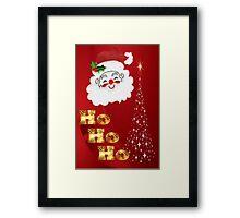 Ho Ho Ho !  Framed Print