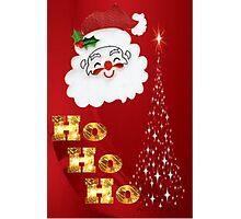 Ho Ho Ho !  Photographic Print
