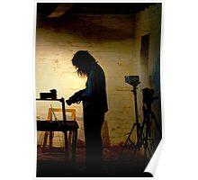 Photographer at work ~ Goulburn Brewery Poster