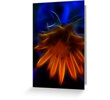 Electric Daisy I Greeting Card