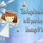 An Angel card  by Ann12art