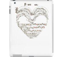 Chanson L'Amour: Vintage Romance iPad Case/Skin