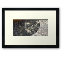 HDR Composite - Granite Rock in Light Through Tea 2 Framed Print