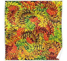 ashberry leaves Poster