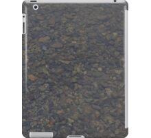 HDR Composite - Gravel Under Water at Boat Landing iPad Case/Skin
